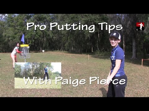 The Disc Golf Guy – Vlog #269 – Paige Pierce Disc Golf Putting Pro Tips