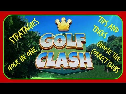 Golf clash tour 5 holes and shootout. Tips and tricks
