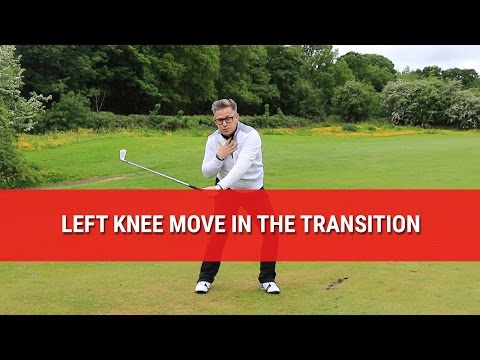 Left Knee Move In The Golf Swing Transition – Golf Swing Tips – DWG