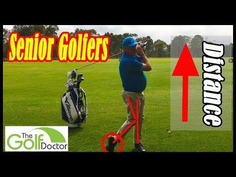 More Distance For Senior Golfers