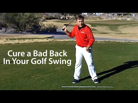 Cure Bad Back Golf Swing