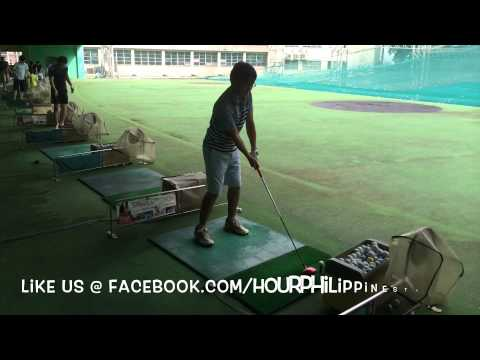 Makati Golf Club Driving Range in Central Business District by HourPhilippines.com