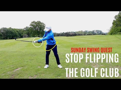 STOP FLIPPING THE GOLF CLUB DRILL