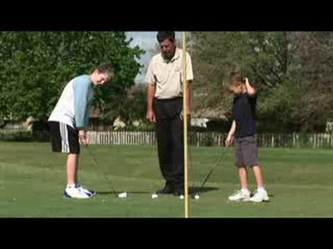 Teaching Golf Basics to Kids : Golf for Kids: Chipping Drills
