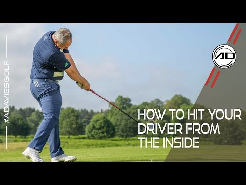 Golf – Hit The Driver From The Inside Every Time