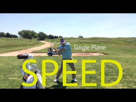 How Moe Norman's Single Plane Swing produces Speed