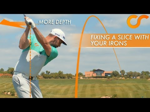 HOW TO FIX YOUR SLICE WITH YOUR IRONS