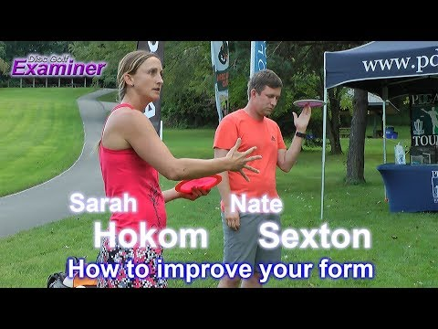 Nate Sexton and Sarah Hokom Driving Clinic – How to improve your form
