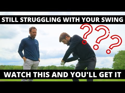 STILL STRUGGLING WITH YOUR SWING? WATCH THIS AND YOU'LL UNDERSTAND THE REASON WHY