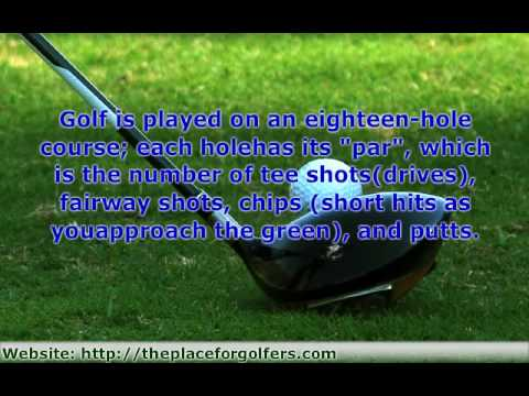 Golf Lessons For Beginners – 1. Introduction