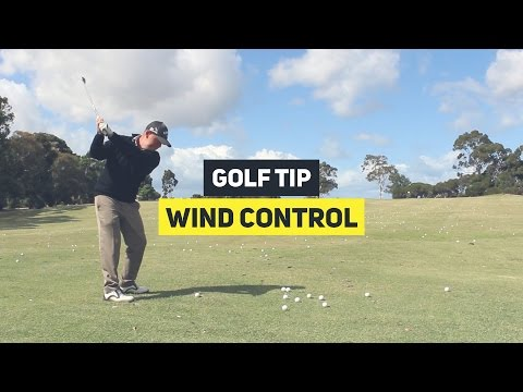 How To Hit Irons Against The Wind || Golf Tip