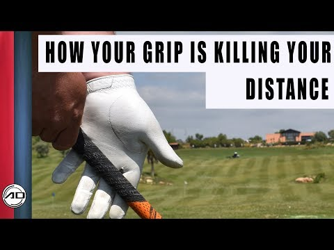 How Your Grip Is Killing your Distance  Palm Grip