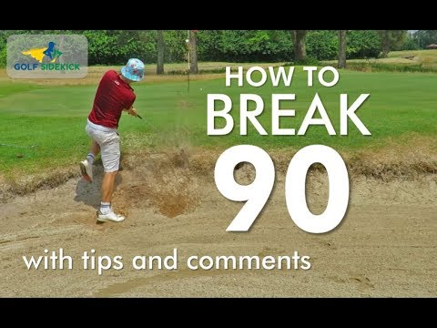 How to Break 90 in Golf   Shot by Shot Course Management