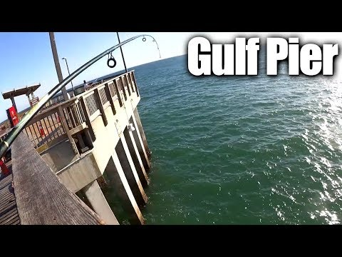 Pier Fishing for Beginners – Easy Fishing at the Gulf State Park Pier