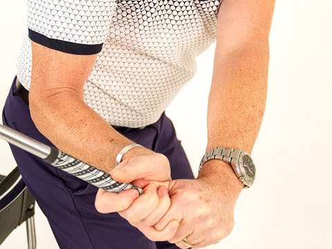 How the arms and hands work in a golf swing to create a natural release.