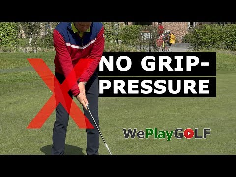 Golf Instruction: With this putting practice you will NEVER grip the putter too tight