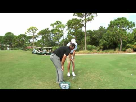 Malaska Golf – Chipping lesson with Jack Nicklaus, Jr.