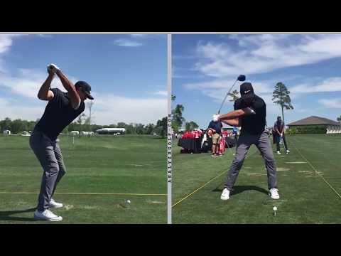 Brooks Koepka – Slow motion driver swing analysis