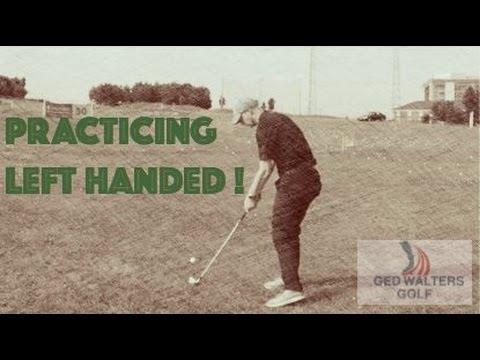 Golf Practice Left Handed