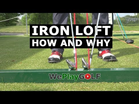 Golf tip: Control the loft of your IRONS – This is why you can PUNCH DOWN onto the golf ball