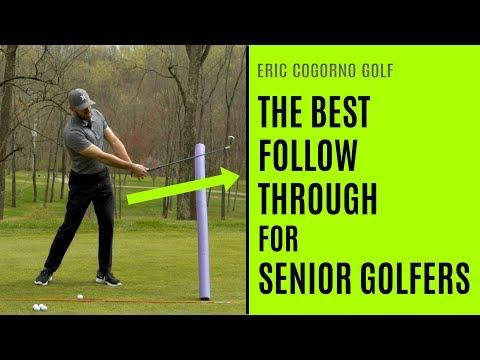 GOLF: The Best Follow Through For Senior Golfers
