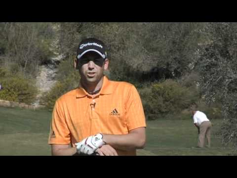 Golf with Sergio Garcia – Driving