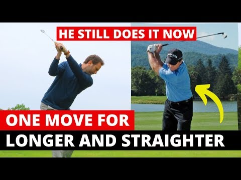 ONE MOVE FOR LONGER AND STRAIGHTER GOLF SHOTS