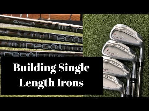 How To Build Single Length Irons – sterling irons