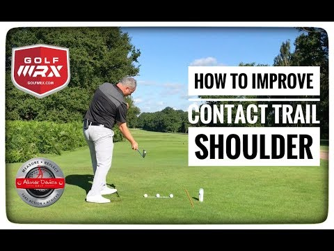 How To Strike Your Irons Pure| Trail Shoulder