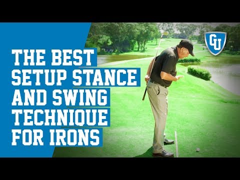 The Best Setup, Stance and Golf Swing Technique For Irons