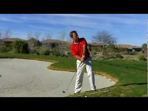 Golf Shot: How To Hit From An Uphill Lie