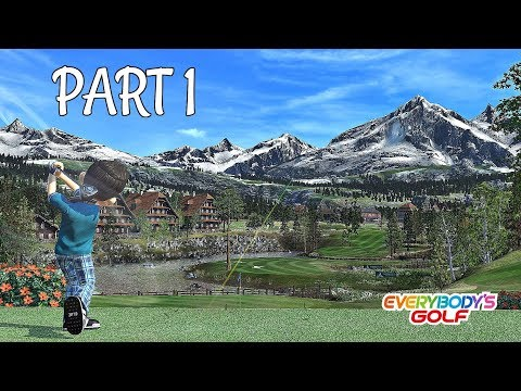 Let's Play Everybody's Golf Part 1 – Beginners Cup 1 & Giveaway | PS4 Pro Gameplay