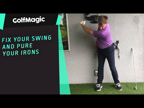 Fix your swing and pure your irons