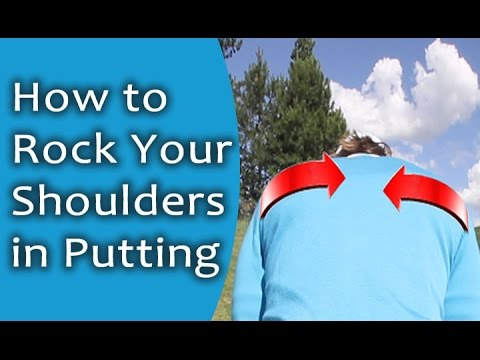 Putting with Your Shoulders | RotarySwing.com