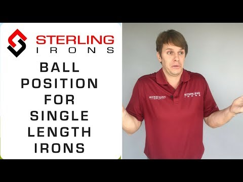 Golf Ball Position With Irons: Single Length Irons