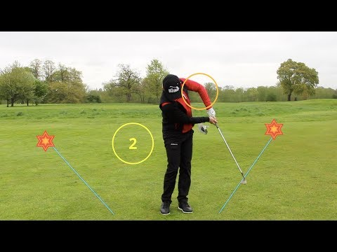 SIMPLE DRILL FOR BETTER CHIPPING AND PITCHING STRIKES