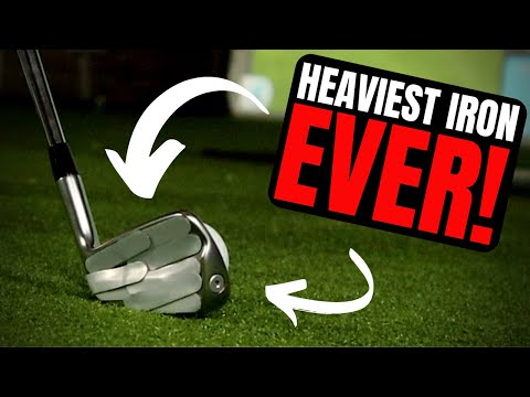 I Make The HEAVIEST Golf Club EVER! THIS THING FEELS AMAZING!