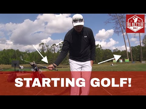 Golf for Beginners! If you have NEVER picked up a Club