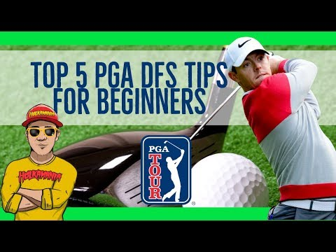Top 5 PGA DFS STRATEGY Tips for BEGINNERS ⛳️ Daily Fantasy GOLF Help [2019 Daily Fantasy Sports]