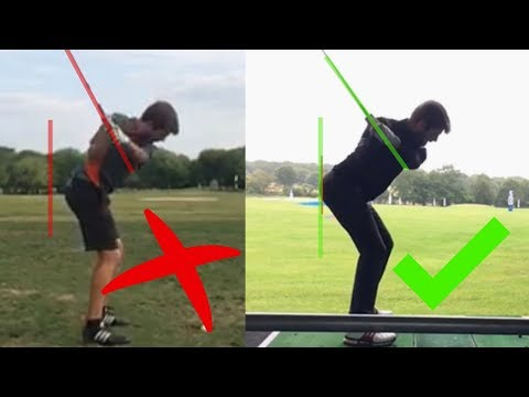 HERE'S WHAT HAPPENED TO GEORGE'S GOLF SWING AFTER 20 HOURS OF CLEVER PRACTICE