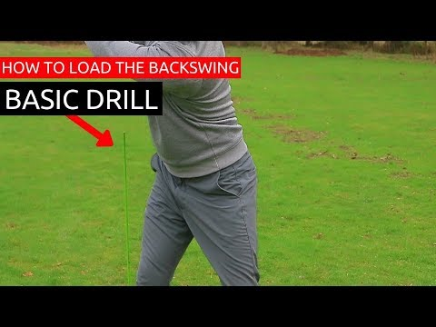 BASIC GOLF SWING TIP FOR A POWERFUL HIP ROTATION IN THE BACKSWING