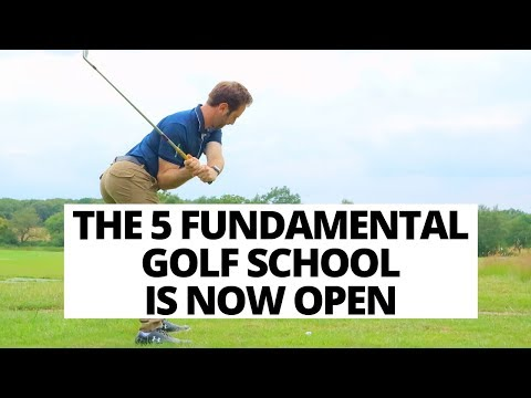 EXCITING NEWS!!! THE 5 FUNDAMENTAL GOLF SCHOOL