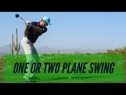 SWING PLANE: LEARN THE DIFFERENCE IN A 1 AND 2 PLANE SWING || Jared Danford Golf