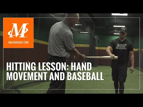 Malaska Golf // Hitting Lesson – Driving the Ball in Baseball and Golf