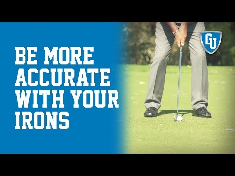 How to Be More Accurate with Your Irons Golf Lesson