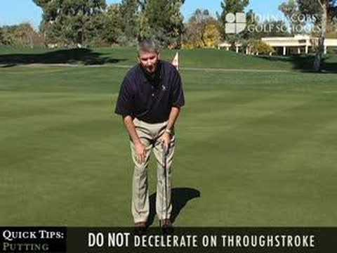 Quick Tips: Putting, presented by John Jacobs' Golf Schools