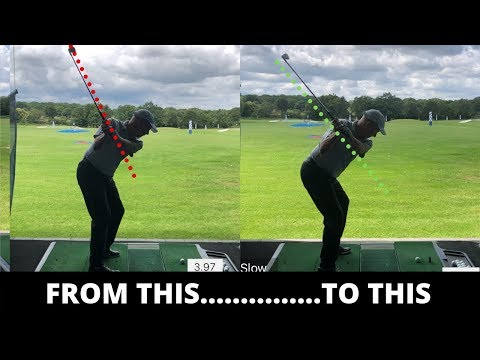 HOW TO REALLY SHALLOW THE GOLF CLUB FOR BETTER IMPACT LIVE LESSON