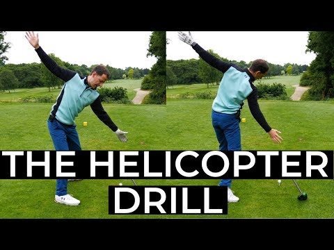 GOLF SWING MADE SIMPLE – THE HELICOPTER DRILL