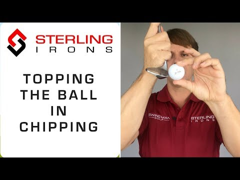 Topping the Golf Ball in Chipping