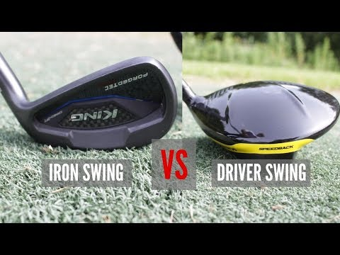 IRON SWING VS DRIVER SWING